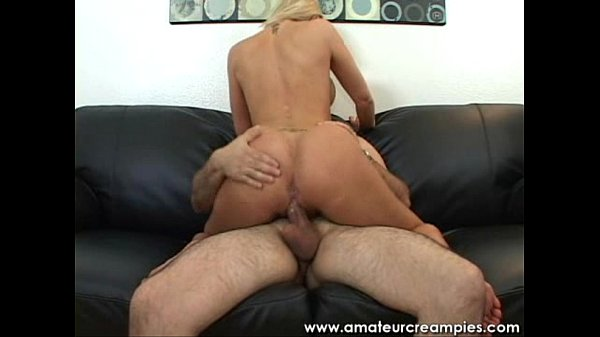 babe blonde with excellent teat cowgirl pump amateur blonde