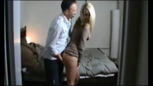 homemade blonde ride after feast amateur blonde