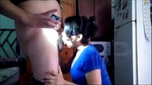 voluptuous home sex indian bhabhi sucking a plumber phallus amateur indian