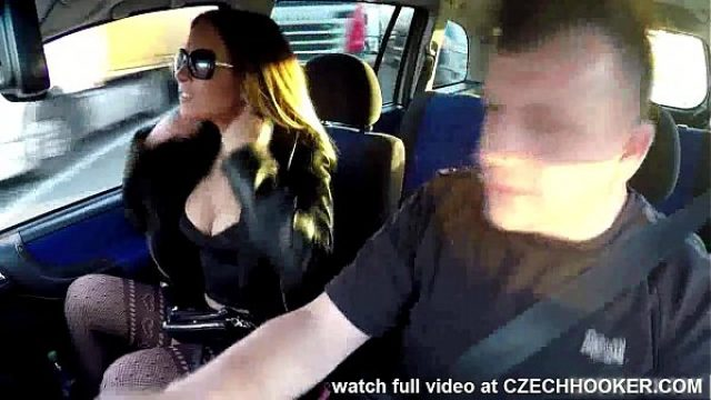 advantaged boobed whore nails in a car amateur sex