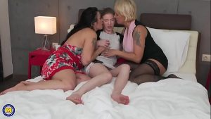 two mature lesbo ladies swing a sexy prodigy amateur lesbian