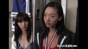 2 cute japanese schoolgirls blowjob their amateur japanese