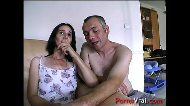cream pie surprise elle gicle sur le canape amateur sex