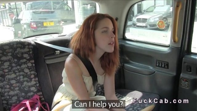 skinny reddish hair home sex nails cab driver amateur redhead