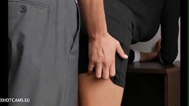 Amateur Anal home sex anal cock sucking of seductive secretary