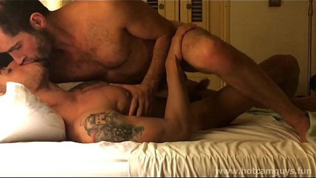 Amateur Gay hunks having sexy foreplay what a desire horn