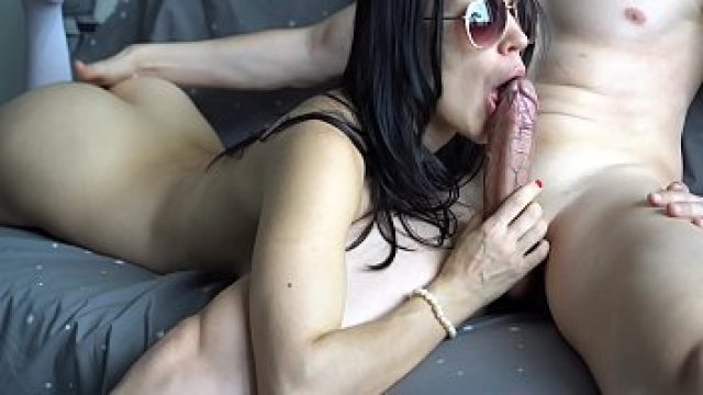 amateur brunette sexy brunette ride on advantaged phallus for her