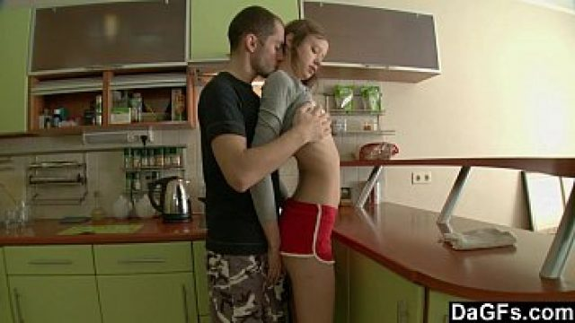 skinny amateur underweight russian homemade pushed in the